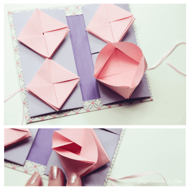 Origami Chinese Thread Book Video Tutorial