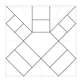 Origami Gem Box Template Lines