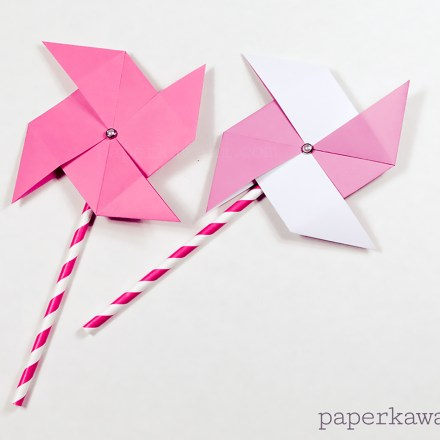 Origami Verdi's Vase Tutorial via @paper_kawaii