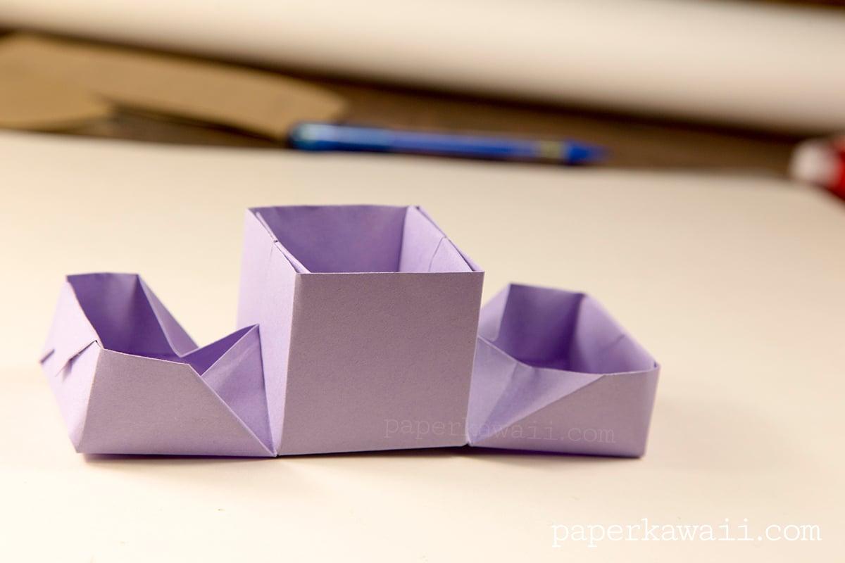 Origami Hinged Box Video Tutorial - Paper Kawaii - photo#38