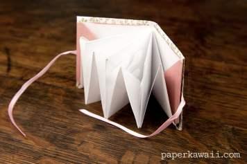 Origami Popup Book Video Tutorial via @paper_kawaii
