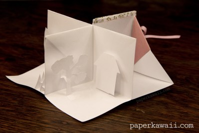 Origami Popup Book Video Tutorial #origami #book #popup #cute #crafts #diy