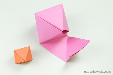 Origami Octahedron Box / Decoration Instructions ♦