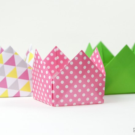Origami Candy Box & Lid Instructions via @paper_kawaii