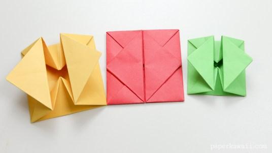 Origami Envelope Box Instructions via @paper_kawaii