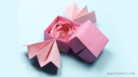 easy traditional origami lotus instructions #origami #diy #crafts #instructions