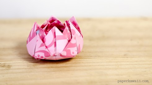 Traditional Origami Lotus Instructions via @paper_kawaii