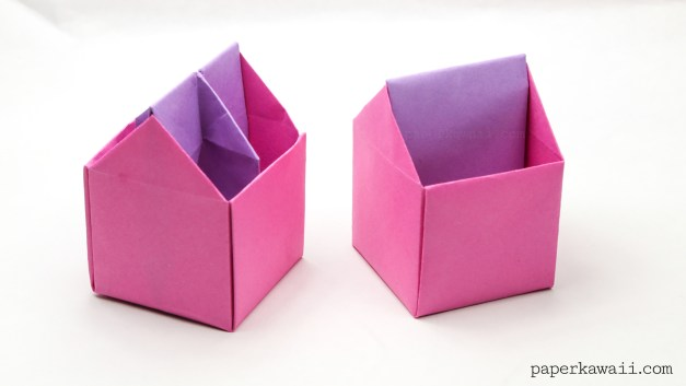 Origami Toolbox / Pen Pot Instructions