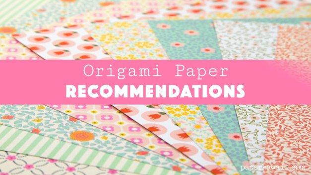 Where do I get my Origami Paper?
