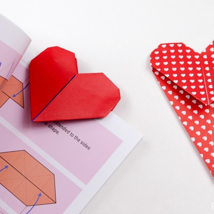 Origami Tic-Tac-Toe Game Instructions via @paper_kawaii