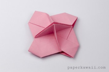 Origami Card Holder Instructions via @paper_kawaii