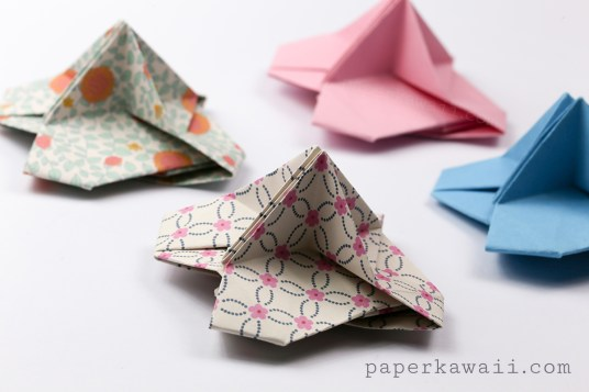 Origami Name Card Holder Instructions