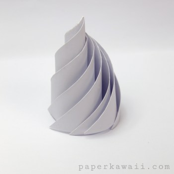 Origami Icing / Whipped Cream Instructions via @paper_kawaii