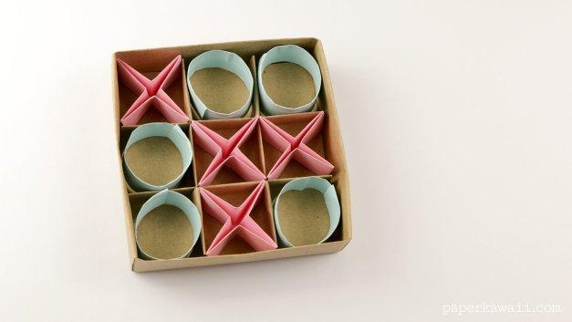 Easy Origami Naughts & Crosses Tutorial