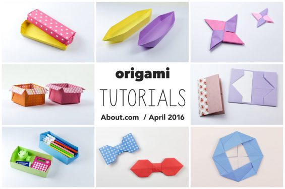 Origami Photo Tutorials – April 2016