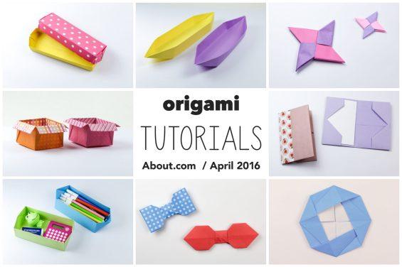 Origami Photo Tutorials – April 2016