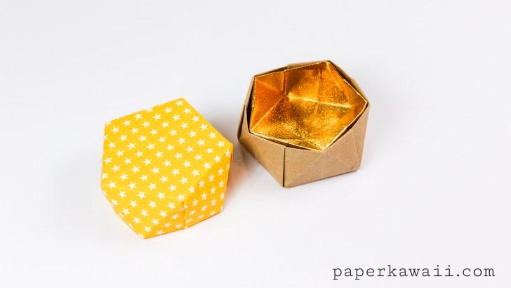 Geometric Origami Bowl Instructions via @paper_kawaii