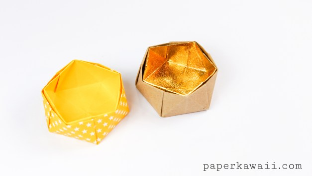 Geometric Origami Bowl Instructions