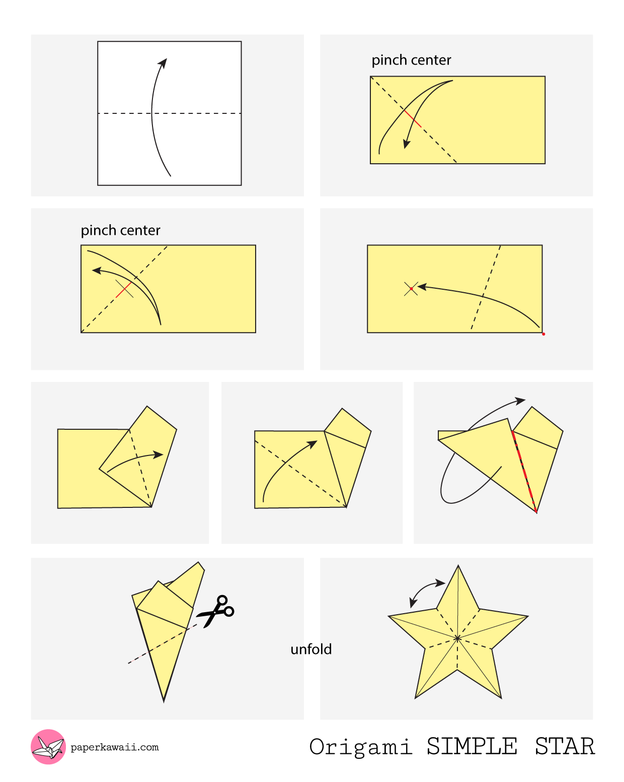 Fabulous Origami Diagrams Paper Kawaii Wiring Digital Resources Inamapmognl