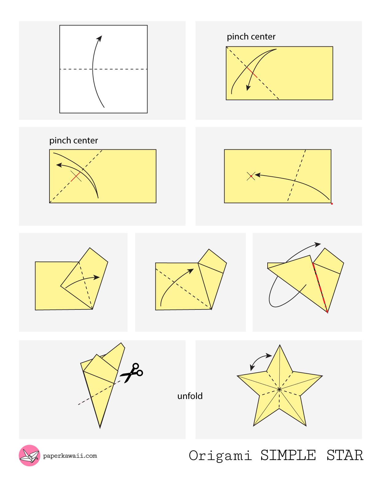Origami Diagrams - Paper Kawaii - photo#42