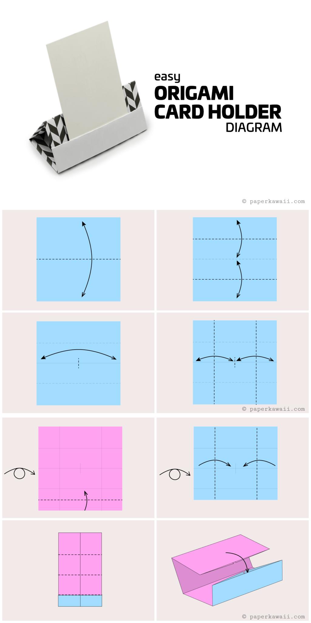 Origami Diagrams - Paper Kawaii - photo#10