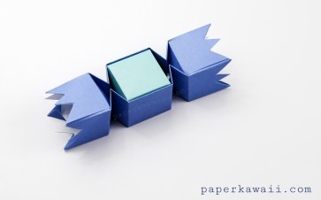 square-origami-candy-box-blue