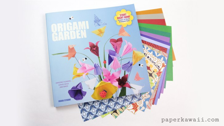 Origami Snail Tutorial & Quick Overview of 'The Origami Garden' by Ioana Stoian via @paper_kawaii