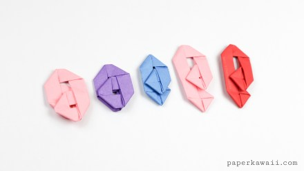 How to make an Origami Paperclip