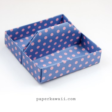 Square Origami Tray / Table Caddy Tutorial