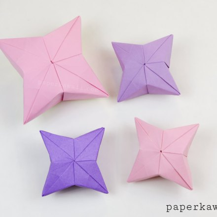 3D Origami Numbers Tutorial - 2019 Happy New Year! via @paper_kawaii