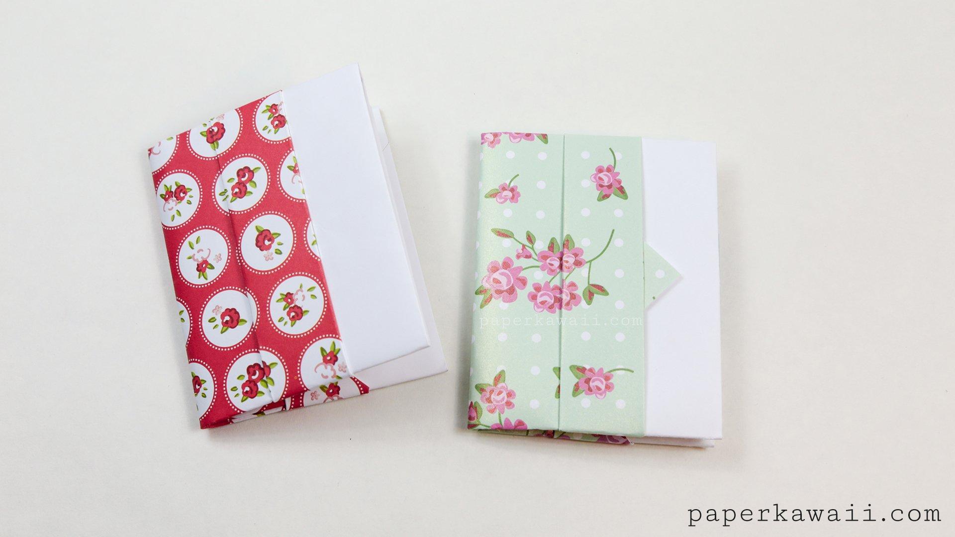 Origami Card Wallet Tutorial - Paper Kawaii