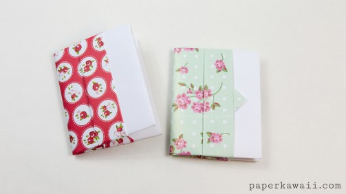 Origami Card Wallet Tutorial via @paper_kawaii