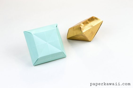 Origami Paper Crystal Tutorial – Make 3D Gems!