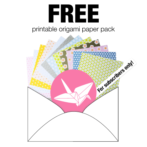 Origami Totoro Tutorial & Free Printable Paper via @paper_kawaii
