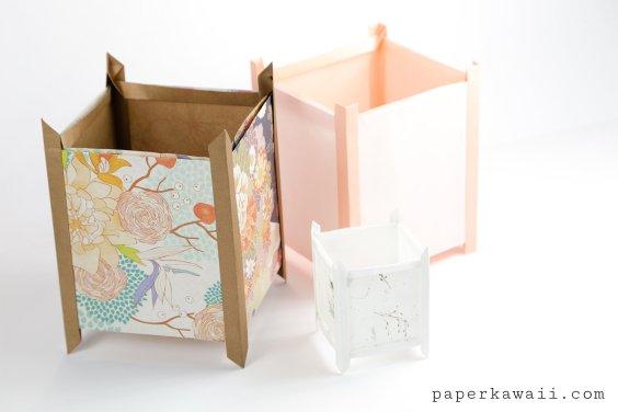 Origami Lantern Tutorial – Japanese Andon Lampshade