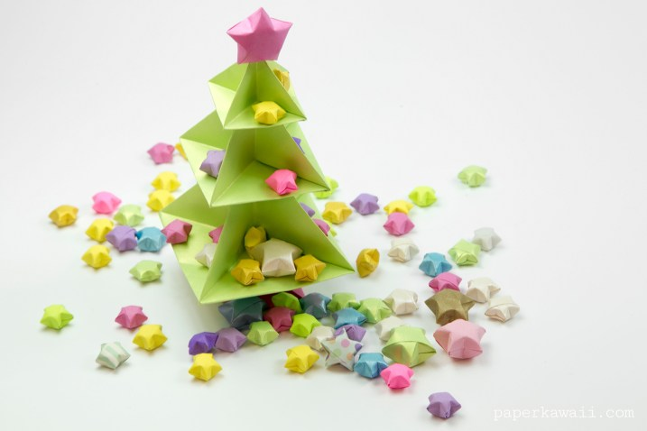 Origami Christmas Tree Tutorial