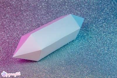 paper-crystal-printable-gem-templates-bipyramid-long