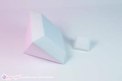 paper-crystal-printable-gem-templates-square-gem-white