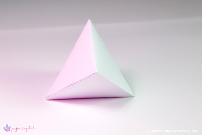 paper-crystal-printable-gem-templates-tetrahedron