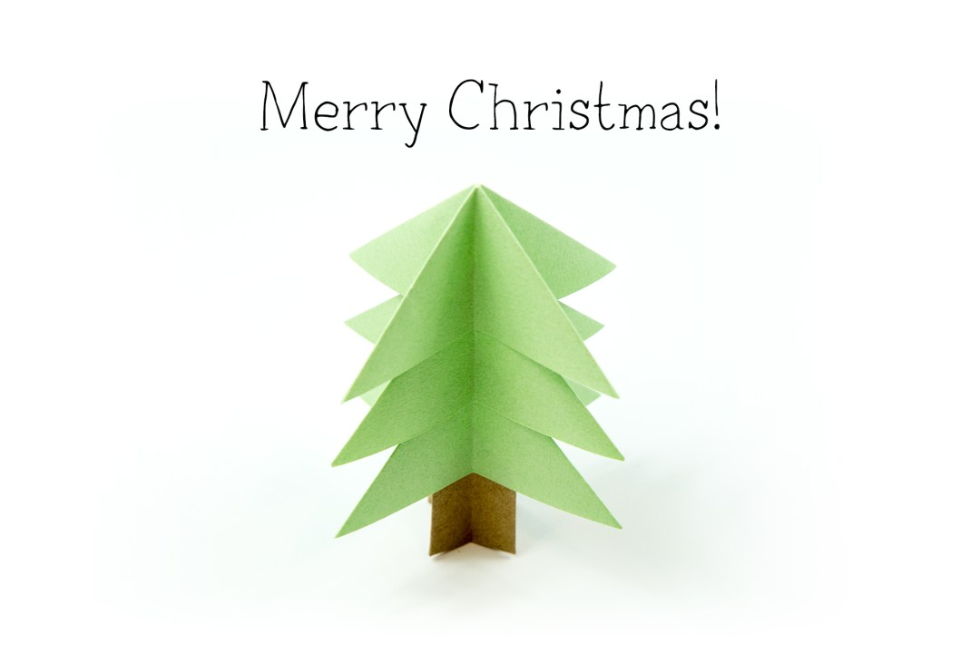 Origami: Christmas Tree 2.0 - Instructions in English (BR ... | 720x1080
