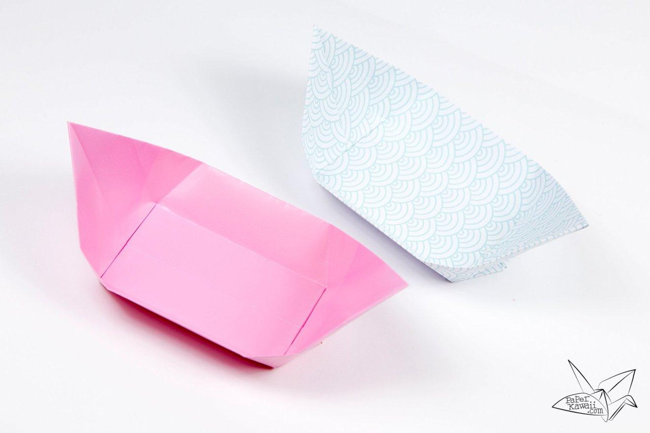 Traditional Origami Tea Plate Tutorial via @paper_kawaii
