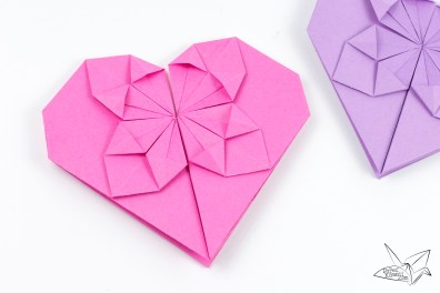 Money Origami Heart Tutorial for Valentine's Day