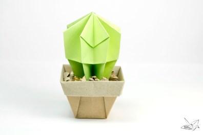 Origami Cactus Tutorial