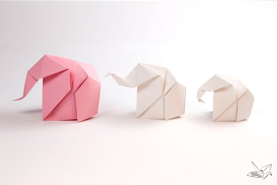 Origami Elephant Tutorial