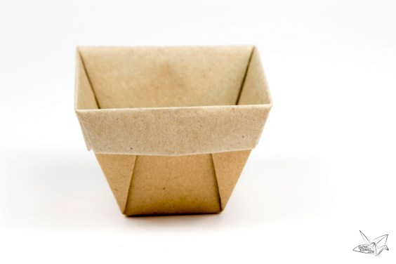 Tapered Origami Box / Origami Plant Pot Tutorial