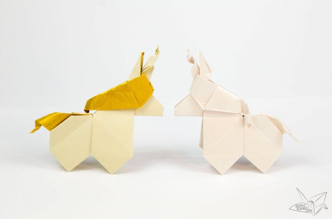 Origami Unicorn Tutorial
