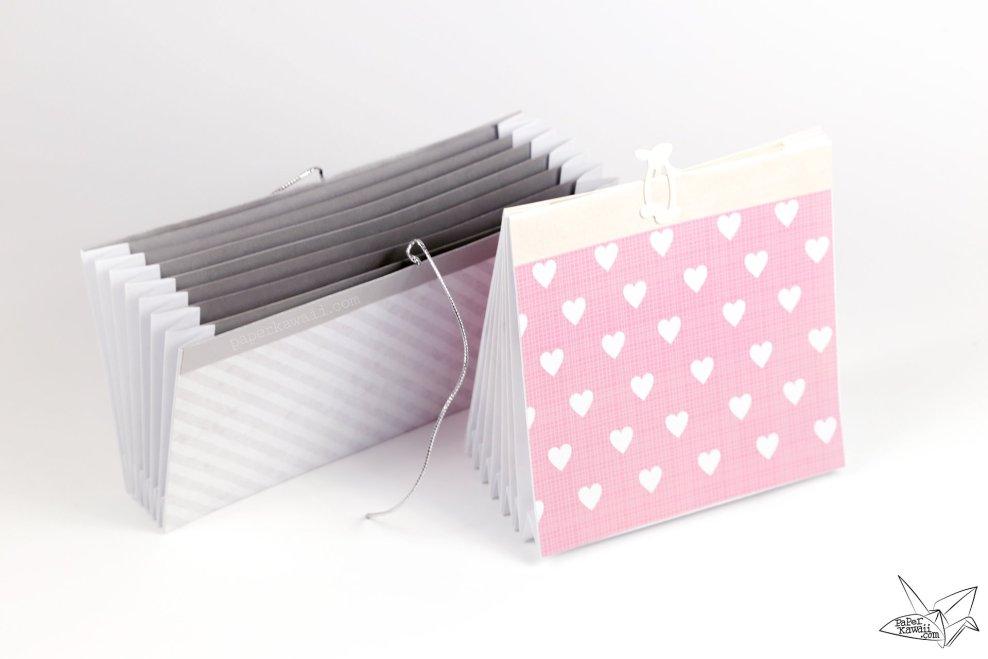 Origami Accordion Document Folder Tutorial via @paper_kawaii