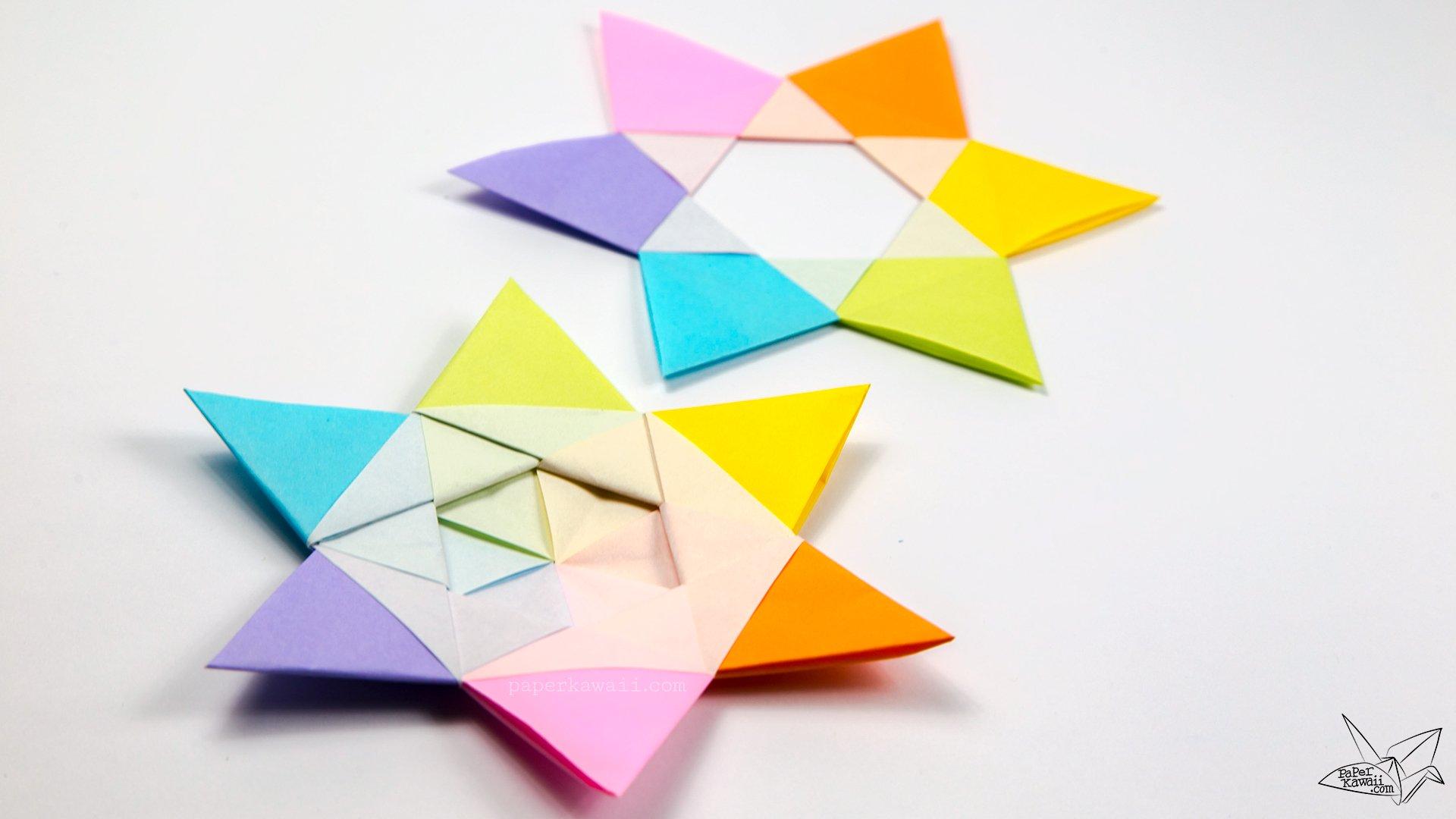 Make Simple Origami Flowers
