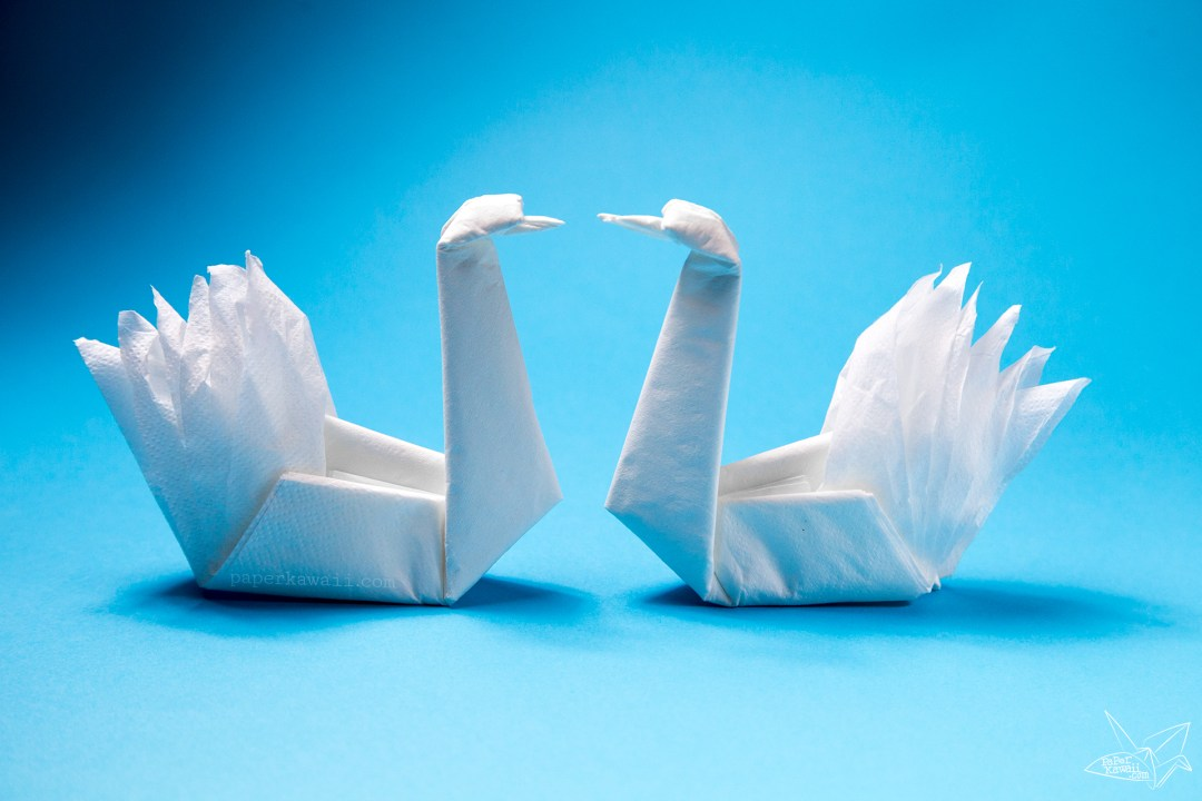 3d origami swan tutorial | DIY Paper Crafts Swan - YouTube | 720x1080