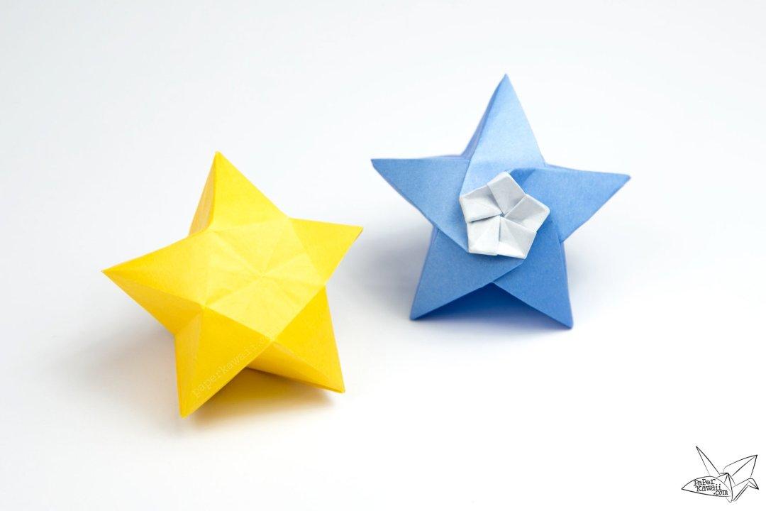 Origami Twinkle Star Tutorial